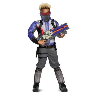 Boys Overwatch Soldier: 76 Classic Muscle Costume