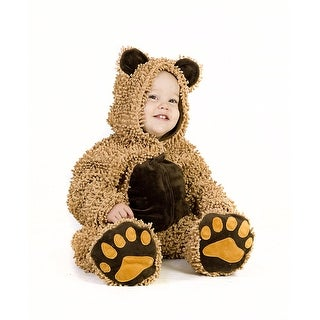 Chenille Teddybear Toddler Costume - Brown