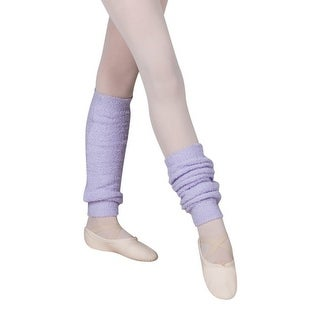 Sansha Girls Lavender Ultra Soft Touch 16 inch Millie Leg Warmers - One size