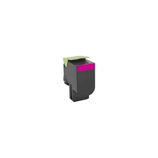 Lexmark 80C0XMG Lexmark Toner Cartridge - Magenta - Laser - Extra High Yield - 4000 Page Magenta - 1 Each