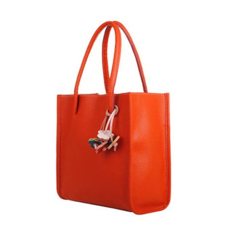 Fashion girls handbags leather shoulder bag candy color flowers totes OR