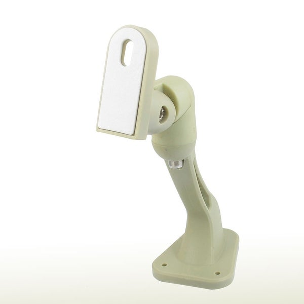 Off White Wall Mount Security CCTV CCD Camera Bracket Holder Stand 6.7