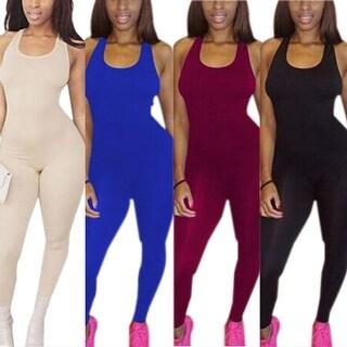 Sleeveless Bodycon Jumpsuit