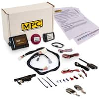 Complete 2 Way LCD Keyless Entry Remote Start Kit For 2013-2015 Honda Crosstour - Prewired - Includes Flashlink Updater