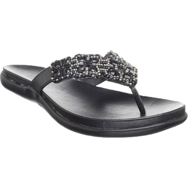 b8a3fd346828 Shop Kenneth Cole Reaction Women s Glam-Athon Sandal Black Metallic - Free  Shipping On Orders Over  45 - Overstock - 11791095