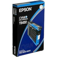 Epson Ultrachrome Ink Cartridge - Cyan Ink Cartridge