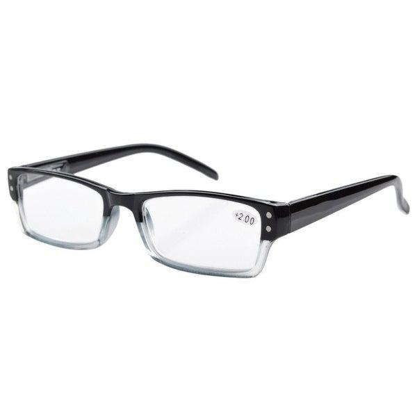 f6933eb54ead Eyekepper Spring Hinges Reading Glasses Men Women With Case Black +3.50