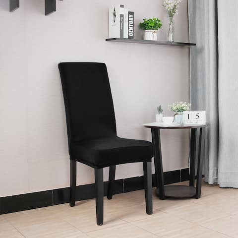 Dining Chair Cover Kitchen Chair Protector Spandex Chair Seat Cover