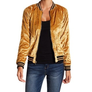 Jolt Large Junior Velvet Star-Quilted Bomber Jacket