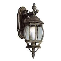 Trans Globe Lighting 4053 1-Light Down Lighting Outdoor Wall Sconce from the Outdoor Collection