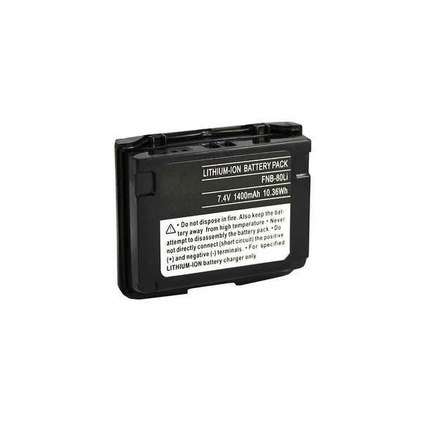 Battery for Yaesu FNB-80 (Single Pack) Two-Way Radio Battery