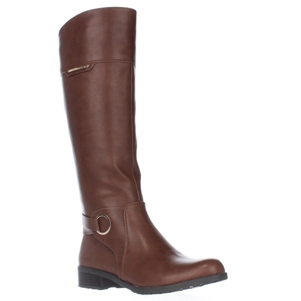 A35 Jadah Riding Boots, Cognac