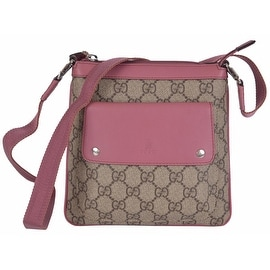 New Gucci Children's 311174 GG Plus Canvas Mini Crossbody Purse Bag