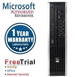 Refurbished HP Compaq 8200 Elite USFF Intel Core I5 2400S 2.5G 4G DDR3 160G DVD WIN 10 Pro 64 1 Year Warranty