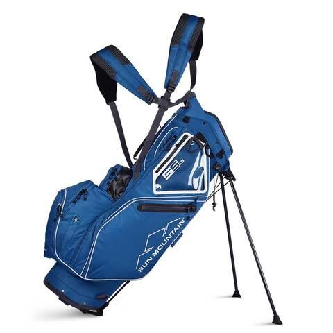 New 2019 Sun Mountain 5.5 LS Golf Stand Bag (Petrel / White) - CLOSEOUT - Petrel / White