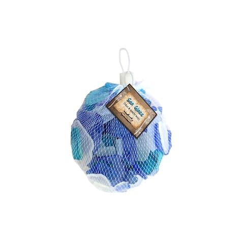 BCI Crafts Gathered Sea Glass Mix Blue & White