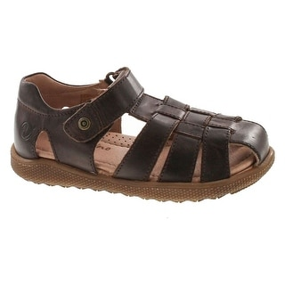 Naturino Boys Gene Casual European Leather Fisherman Closed Toe Sandals