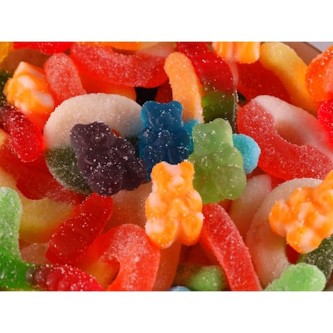 The Nut Garden Gummy Mix Bulk Candy 5 lb Bag