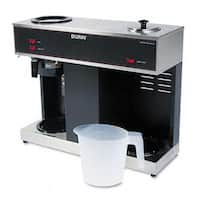 Pour-O-Matic Three-Burner Pour-Over Coffee Brewer  Stainless Steel