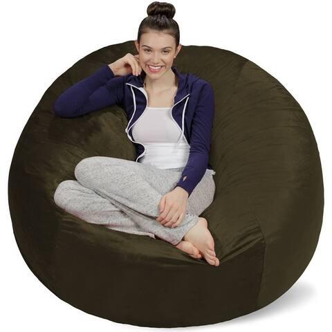 5-foot Bean Bag Chair Large Memory Foam Bean Bag