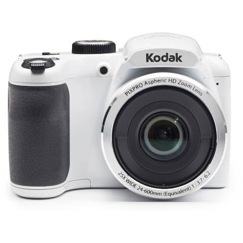 Kodak PIXPRO AZ252 Astro Zoom 16MP Digital Camera (White)