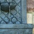 Sunnydaze Rosette Leaf Outdoor Wall Fountain, 31 Inch Tall - Thumbnail 3