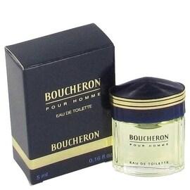BOUCHERON by Boucheron Mini EDT .15 oz - Men
