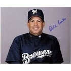 Signed Castro Bill Milwaukee Brewers 8x10 autographed
