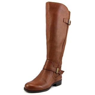 Naturalizer Joan Wide Calf Women Round Toe Leather Knee High Boot