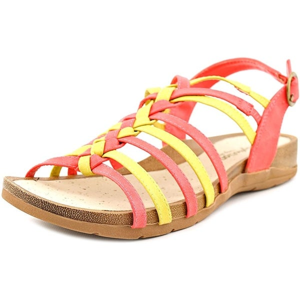 475a3d700d3a Shop Easy Street Twister N S Open Toe Synthetic Gladiator Sandal ...