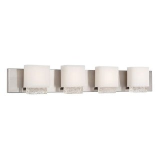 """Modern Forms WS-6045 Fusion 45"""" Width 4 Light LED Vanity Strip"""