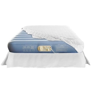Aerobed Commercial Elevated Inflatable Air Bed Mattress - Twin / Full / Queen - Blue