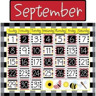 Barker Creek Calendar Set, Buffalo Plaid and Wide Stripes