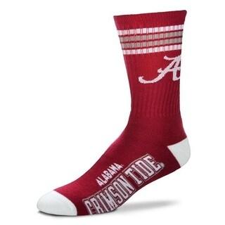 Alabama Crimson Tide 4 Stripe Socks