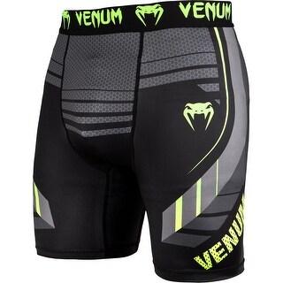 Venum Technical 2.0 Dry Tech MMA Compression Shorts - Black/Yellow