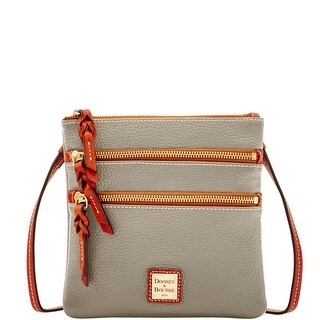Dooney & Bourke Pebble Triple Zip Crossbody (Introduced by Dooney & Bourke at $138 in Sep 2017)