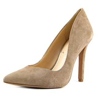 Jessica Simpson Cylvie Women Pointed Toe Suede Gray Heels