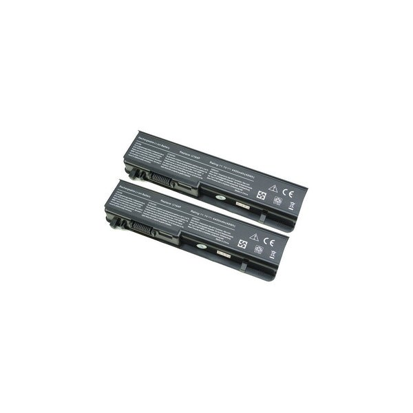 Battery for Dell 312-0196 (2-Pack) Replacement Battery