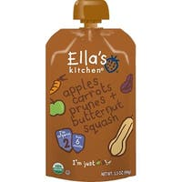 Ella's Kitchen  - Apples Carrots, Prunes & Butternut Squash Puree ( 12 - 3.5 OZ)