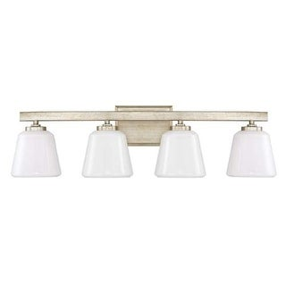 """Donny Osmond Home 8534-300 4 Light 29.5"""" Wide Bathroom Fixture from the Berkeley Collection"""