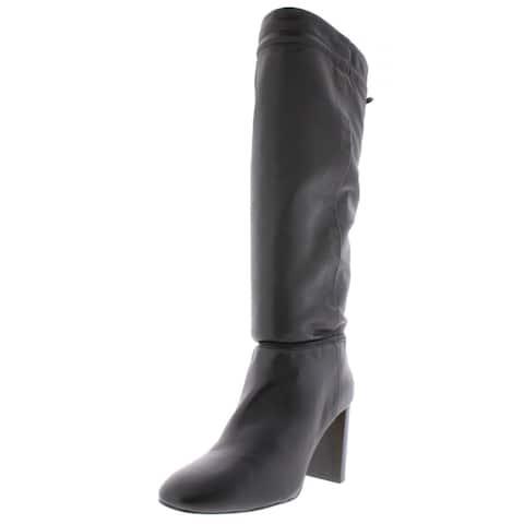 Kate Spade Womens Hazel Over-The-Knee Boots Leather Fringe