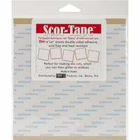 Scor-Tape Sheets 5/Pkg-6''X6''