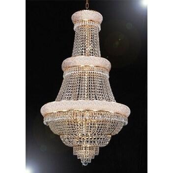3 tier chandelier bronze swarovski crystal trimmed chandelier lighting with 21 lights gold 3tier shop
