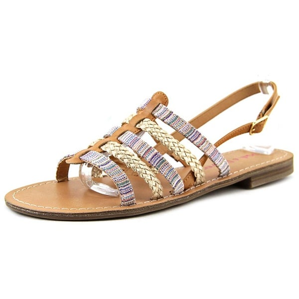 Pink & Pepper Hippie2 Open-Toe Synthetic Slingback Sandal