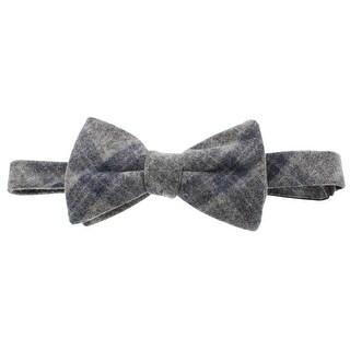Tommy Hilfiger Mens Bow Tie Wool Blend Tartan - o/s