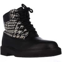 Studswar Goran High Top Fashion Sneakers, Black