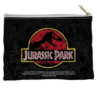 Jurassic Park Classic Logo Accessory Pouch White