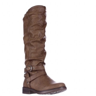 XOXO Martin Riding Boots, Tan