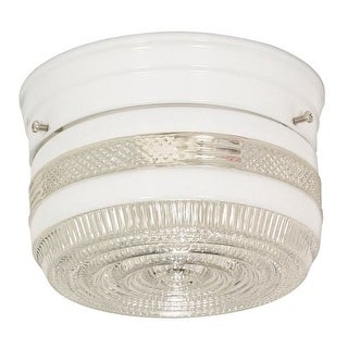 Nuvo Lighting 77/097 1 Light Flush Mount Indoor Ceiling Fixture - 6 Inches Wide