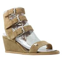 Dolce Vita Womens Lincoln Brown Ankle Strap Heels Size 7.5